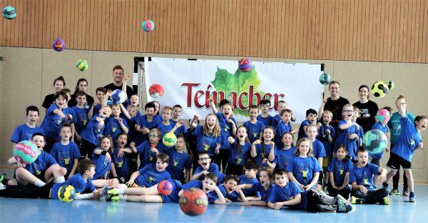 Handballcamp in den Osterferien wieder sehr erfolgreich – mehr als 50 Kids waren dabei